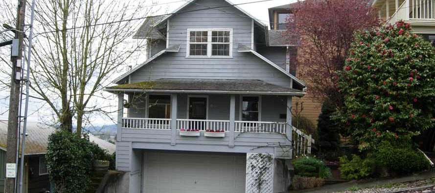 Portland HardiePlank Siding - Before
