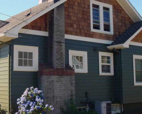 Old Home Siding - After