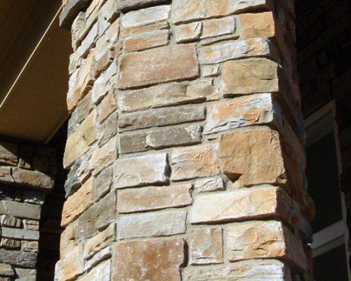 Stone Siding - Column