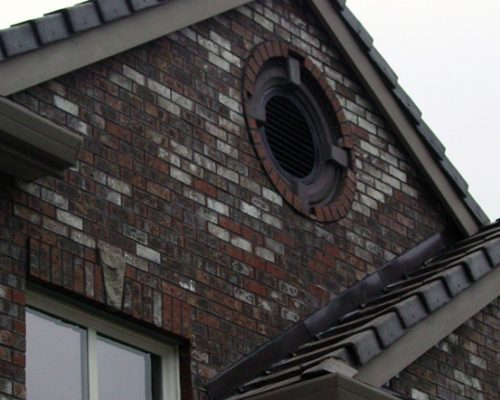Brick Siding -Gable