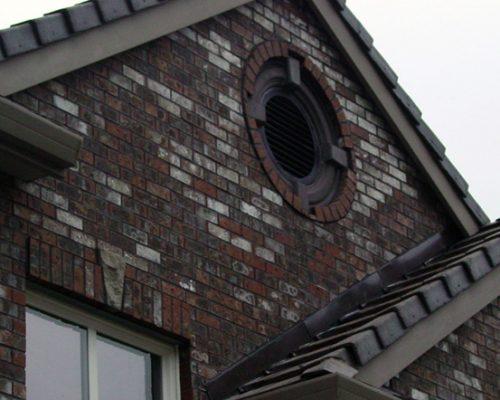 Brick Siding -Gable