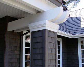 Cedar Siding & Stone Siding Details