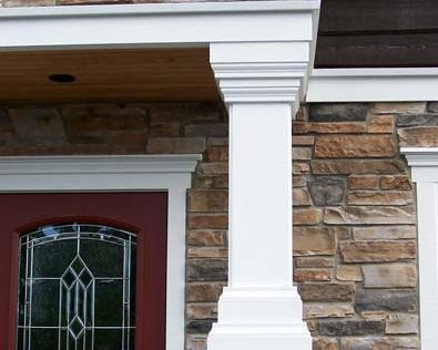 Cultured Stone Siding - Details