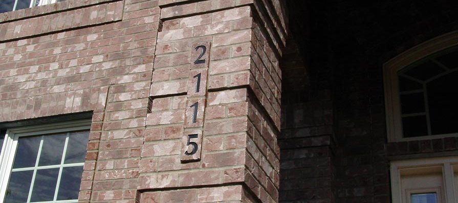 Brick Siding - Column