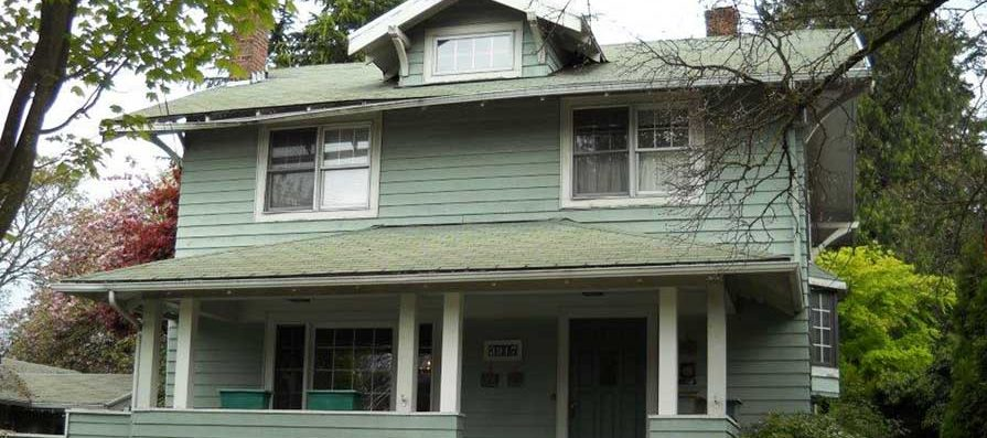 Historic Home Restoration and Siding - Before