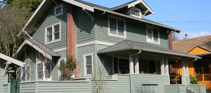 Historic Home Restoration and Siding - After