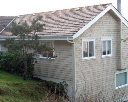 Cedar Shingle Siding After