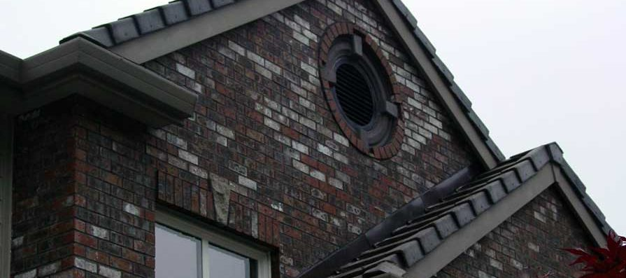 Brick Siding - Gable