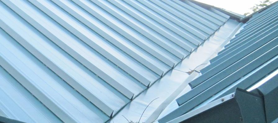 Metal Roofing - Cleated Valley