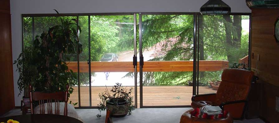 Sliding Glass Doors - Before