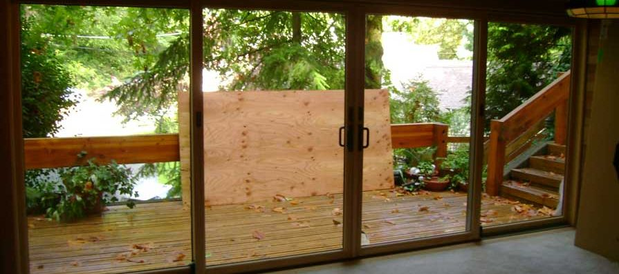 Sliding Glass Doors - After