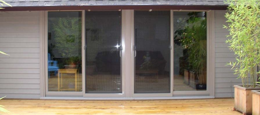 Adding Sliding Patio Doors - After