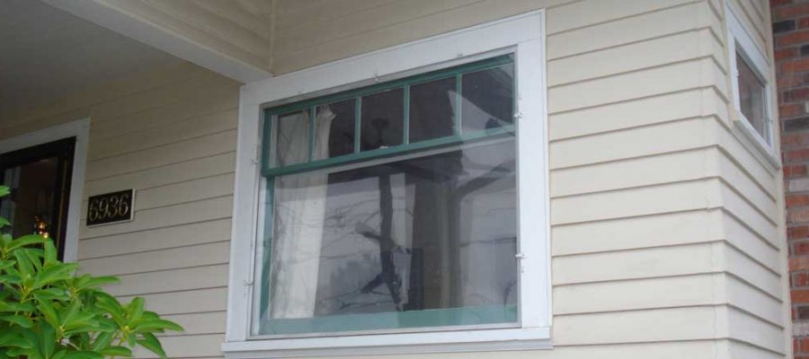 Replacement Windows - Before