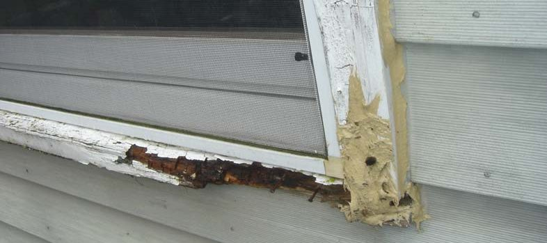 Replacement Wood Windows Portland - Before