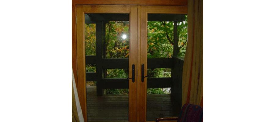 Wood French Patio Doors 2