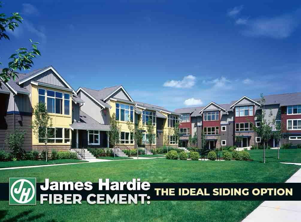 James hardie fiber cement the ideal siding option for Fiber cement siding fire rating